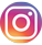 Instagram footer link